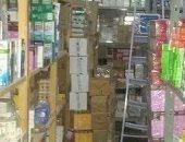 صحة بنى سويف تضبط صيدلية تبيع أدوية خاصة بالتأمين الصحى ومستشفيات الحكومة