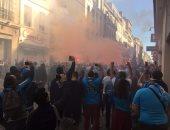 بالفيديو.. أجواء ملتهبة فى شوارع مارسيليا قبل مواجهة القمة أمام سان جيرمان
