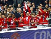 بالفيديو.. مراسم تتويج مانشستر يونايتد بلقب كأس الرابطة الإنجليزية