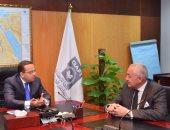 هيئة الاستثمار تناقش آليات تخصيص الأراضى مع التنمية الصناعية