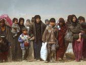 افتتاح مخيم جديد لإيواء النازحين من المعارك فى غرب الموصل