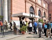 ارتفاع حرارة الجو لم يؤثر على معدلات الزيارة بالمواقع والمتاحف الأثرية