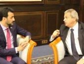 وزير الرياضة العراقى يدعو لإقامة مباراة ودية مع الفراعنة فى استاد البصرة
