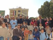 بالصور.. الحماية المدنية بالأقصر تحتفل بيومها العالمى وسط أطفال المدارس