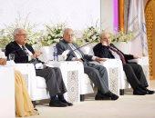 """بالصور.. فعاليات جلسة """"حرية الأفراد وهوية الجماعات"""" بمؤتمر الأديان"""