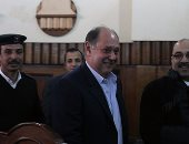 """""""جنايات الجيزة"""" تواصل اليوم إعادة محاكمة جرانة والمغربى بتهم التربح"""
