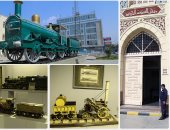 فتح متحف السكة الحديد مجاناً أول مارس احتفالا بالعام الثانى على تأسيسه