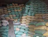 ضبط 100 طن أرز بدون فواتير داخل أحد المضارب بدمياط