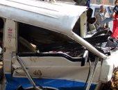 مصرع سيدة بعدما صدمتها سيارة أثناء عبورها لدائرى القومية العربية