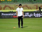 محمد إبراهيم يعوض غياب طارق حامد أمام القطن