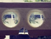 صورة تكشف عن أول نموذج من نظارة جوجل للواقع الافتراضى Cardboard