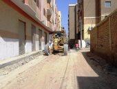 قارئ يطالب برصف شارع منشية التحرير فى عين شمس