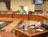 بالصور .. طلاب الجامعة الأمريكية يبحثون رؤية محافظة المنيا فى التنمية الإقتصادية