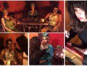 فنانة مصرية تحول أجساد الأشخاص إلى لوحات زيتية