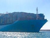 ميناء شرق بورسعيد يستقبل سفينة الحاويات العملاقة Mette Maersk