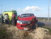 اصابة 9 أشخاص في حادث تصادم بديرب نجم بالشرقية