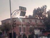 مطالب لأهالى شارع البحر بطنطا بإصلاح إشارة المرور خوفاً من الحوادث