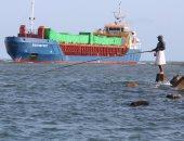 توقف حركة الملاحة البحرية بكفر الشيخ لهبوب الرياح الشديدة