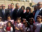 بالصور ..وزير التموين ومحافظ القليوبية يشاركان فى الاحتفال بيوم الشهيد