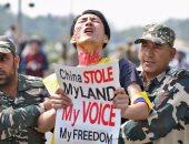 تظاهرات فى الهند لإحياء ذكرى انتفاضة التبت عام 1959