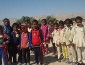 """بالصور.. أهالى """"حاجر الطوخ"""" يطلبون بمدرسة فى القرية لحماية أطفالهم من الذئاب"""