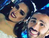 """ننشر أول صورة لـ""""نضير"""" ابنة الشيخ صالح كامل وصفاء أبو السعود فى حفل زفافها"""