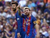 ميسي يتقدم لبرشلونة والحدادى يتعادل لفالنسيا فى آخر لحظات الشوط الأول