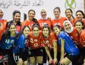 الأهلى مع سبورتنج والزمالك أمام بطل المغرب فى البطولة العربية لسيدات الطائرة