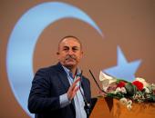 المتبجح.. وزير الخارجية التركى يصف السوريين بـ غير الشرعيين.. فيديو