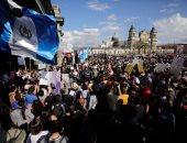 بالصور.. مظاهرات فى جواتيمالا احتجاجا على تفحم 39 فتاة داخل ملجأ