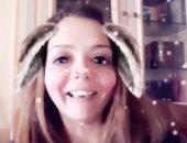 فيديو كوميدى لإيمى سالم عن تجربتها مع التوأم: هتشتمى كتير وتاخدى أدوية صداع والشحتفة هتقل