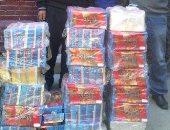ضبط 3 طن حلوى فى مصنع غير مرخص بالخانكة