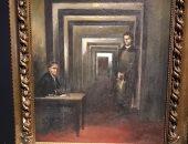 لوحة للزعيم النازى هتلر تعرض لأول مرة فى إيطاليا
