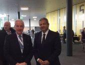 وزير الرياضة يعقد جلسة مع رئيس الوكالة الدولية المنشطات