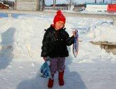 طفلة تسافر أميالا فى درجة حرارة تحت الصفر بـ سيبيريا لإنقاذ جدتها