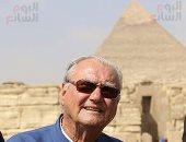 بالصور.. أمير الدنمارك: سعيد ببحث المصريين عن أسرار حضارتهم القديمة