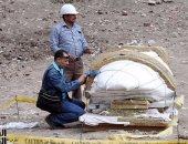استعدادات مكثفة للبعثة المصرية الألمانية لنقل آثار المطرية للمتحف المصرى
