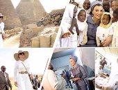 """صحيفة إسرائيلية: السودان استخدمت """"موزة"""" للرد على زيارة ميسى للأهرامات"""