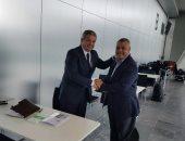 وزير الرياضة يواصل لقاءاته بمسئولى الوكالة الدولية لمكافحة المنشطات