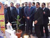 بالصور.. رئيس الوزراء يفتتح معرض القاهرة الدولى للمؤتمرات فى دورته الـ 50