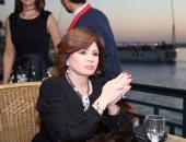 إلهام شاهين: إنجازات الرئيس السيسى كبيرة جدا.. والأفضل قادم