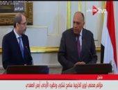 وزير الخارجية: القضية الفلسطينية ستتصدر القمة العربية المقبلة