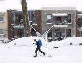 بالصور.. مصرع 6 أشخاص فى عاصفة ثلجية شلت شرق كندا