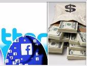 """لماذا لا يدفع """"فيس بوك"""" و""""تويتر"""" الضرائب عن الإعلانات داخل مصر؟ .. الموقعان يبحثان عن الثغرات فى القانون للتهرب من أداء حقوق الدولة .. وينشران مئات الآلاف من الإعلانات المحرضة على العنف بهدف تحقيق الربح"""