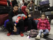 عودة دفعة جديدة من المهجرين السوريين قادمين من مخيمات اللجوء فى الأردن