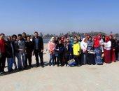 """""""مياه سوهاج"""" تنظم رحلات تعريفية لطلاب المدارس عن مراحل تنقية المياه"""