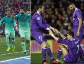 بالصور.. 10 مباريات نهائية تحسم بطل الليجا بين ريال مدريد وبرشلونة