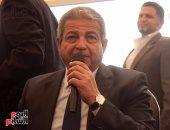 وزير الرياضة يحضر مباراة الفراعنة الودية أمام توجو