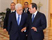 أبو مازن يعزى السيسى هاتفيا ويؤكد ثقته فى قدرة مصر على تجاوز الصعاب