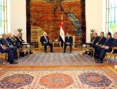 """الرئيس السيسي: القضية الفلسطينية ستكون فى صدارة المباحثات مع """"ترامب"""""""